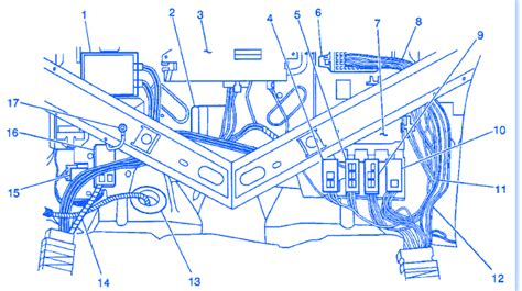 cadillac deville  electrical circuit wiring diagram