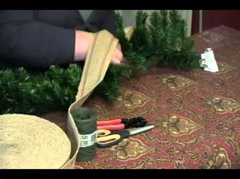 decorate  store bought christmas garland youtube