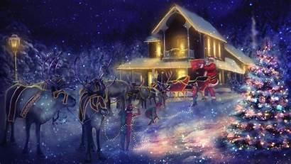 Christmas Desktop Theme Themes Holidays Happy