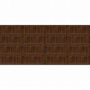 clopay gallery collection 16 ft x 7 ft 65 r value With 5 ft garage door