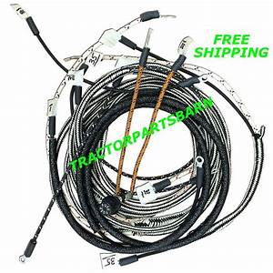 Ih Farmall Super A Av B Bn Restoration Quality Wiring Harness 1 Wire Alternator