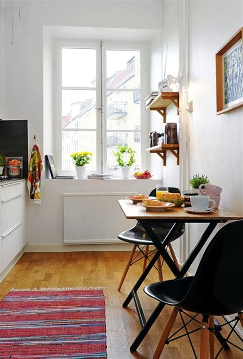 breakfast table ideas  small spaces