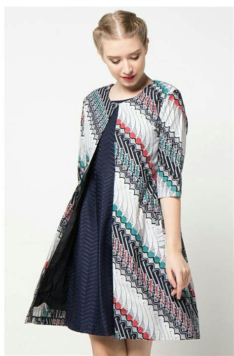 model baju batik atasan  model baju muslimah