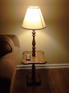 end tables designs end tables with lamps built in sofa With vintage floor lamp with built in table