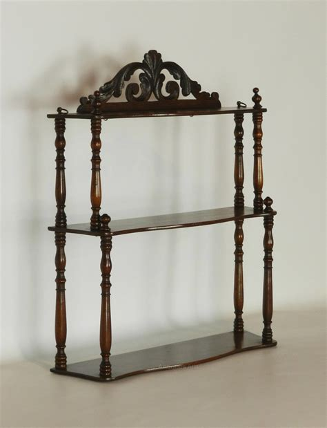 Mahogany Etagere by Antique Mahogany Etagere Wall Shelf Antiques Atlas