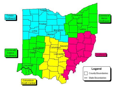 ohio state regional zip code wall maps swiftmaps com