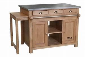 Cuisine Bois Massif : table cuisine en bois amnagement intrieur u0026 dcoration ~ Premium-room.com Idées de Décoration