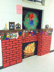Decorated door contest at st century community learning