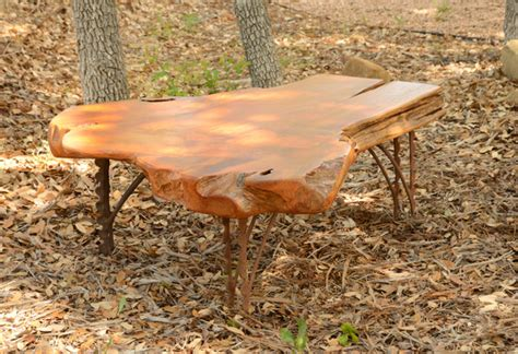 Cypress Live Edge Coffee Table