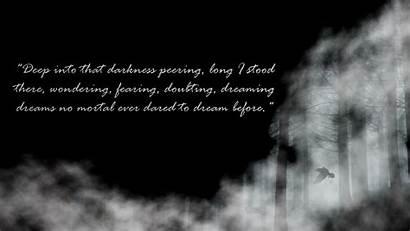 Poe Edgar Allan Raven Quote Anime Death