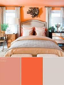 Peach Color Palette - Peach Color Schemes HGTV