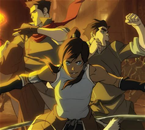 de legende van korra avatar   elements