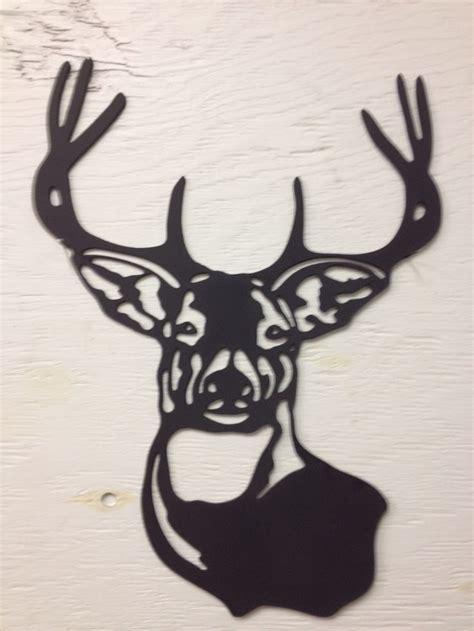 metal deer buck silhouette    buck silhouette