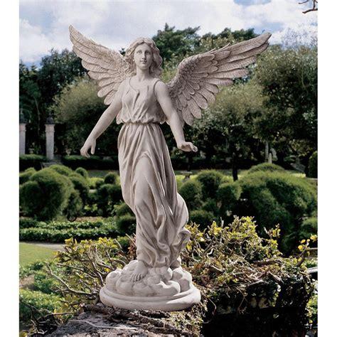 design toscano 38 quot angel of patience sculptural hand