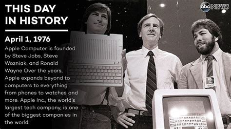 Apple was founded on this day 40 years ago... - scoopnest.com