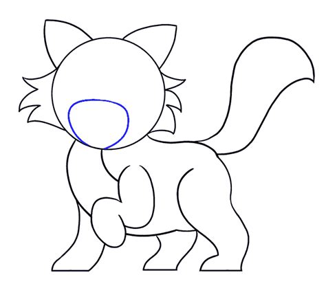 draw  cartoon cat easy drawing guides