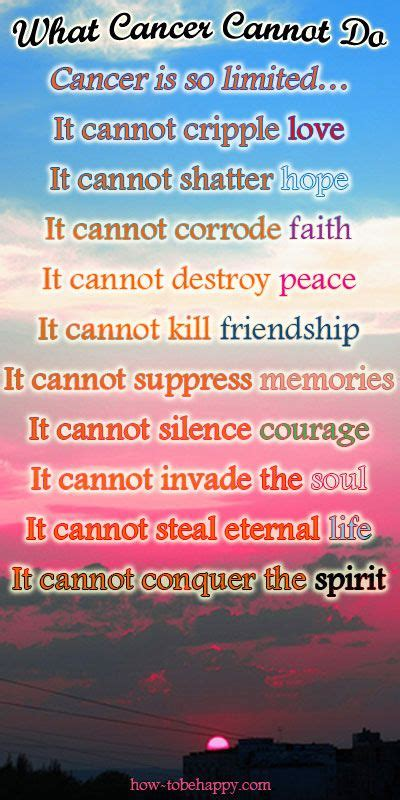 inspirational cancer quotes ideas  pinterest