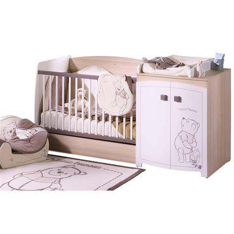 chambre bébé aubert soldes lit bebe winnie aubert