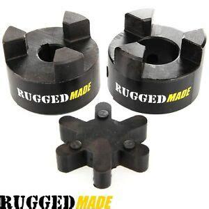 shaft flexible jaw coupler rubber spider  lovejoy coupling ebay