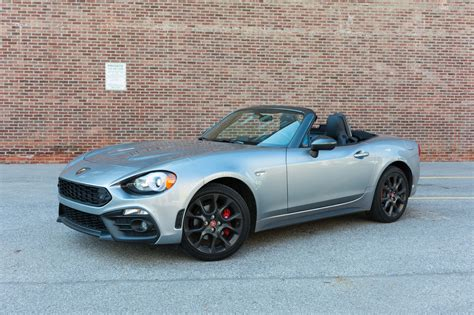 2017 Fiat 124 Spider Abarth Review A Tale Of Two Drivers
