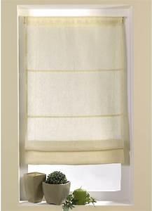 Store En Lin : store voilage en tamine lin uni pistache gris ~ Edinachiropracticcenter.com Idées de Décoration