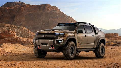 2016 Chevrolet Colorado Zh2 Fuel Cell Army Truck Wallpaper