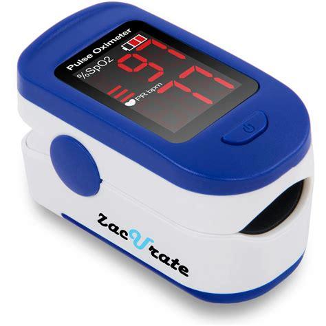 Amazon.com: Zacurate® Fingertip Pulse Oximeter Blood