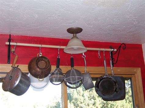Kitchen Hangers For Pots And Pans by 23 Best Images About Pot Hangers On Pot Racks