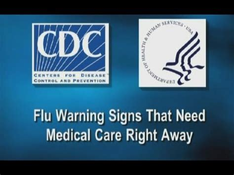Flu Warning Signs That Need Medical Care Right Away - YouTube