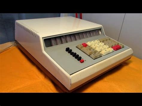 First Ussr Calculator Using Integrated Circuits Iskra