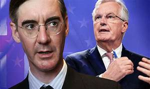 BARNIER'S BLUFFING: Rees-Mogg savages EU boss over bid to ...