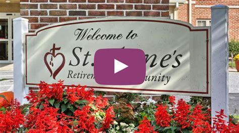 st annes retirement community care services memory