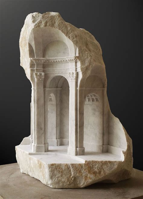 arresting miniature architectural details carved in