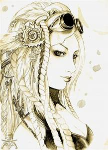 steampunk drawing | Art- Illustrations | Pinterest