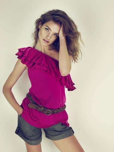 etam pret a porter vodianova promotes etam pr 234 t a porter line fashion wear geniusbeauty