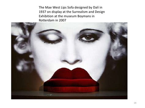 Mae West Sofa Salvador Dali 1937 by As Mae West Said