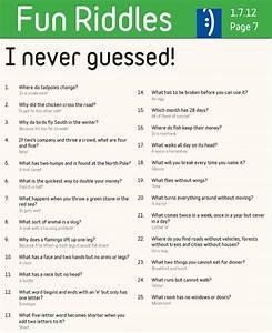 Page 7 Fun Riddles Riddles Pinterest Riddles And Fun
