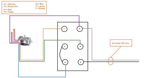 Dayton 2x441 Wiring Diagram by I Am Trying To Connect A Dayton Model 6k148n Electric
