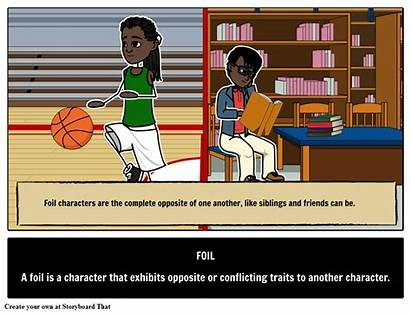 Foil Literary Terms Definition Character Examples Device
