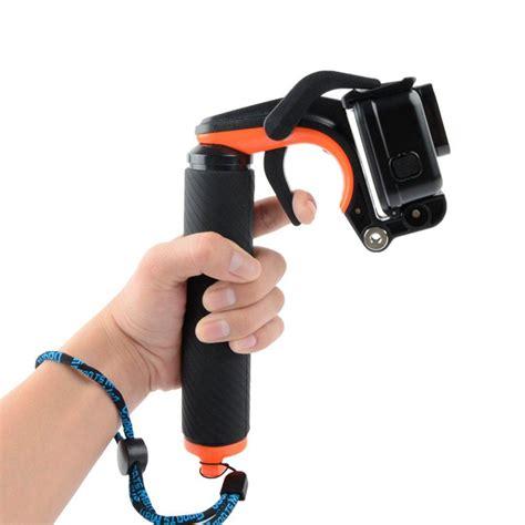 diving selfie stick remote shutter floating hand grip  gopro hero  xiaoyi  fpv