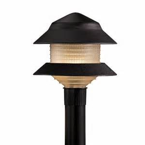 shop portfolio 4 watt black low voltage incandescent path light at lowes