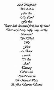 Boondock Saints Prayer Tattoo | The Brothers Prayer ...