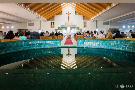 st peter chanel church wedding claudia albert