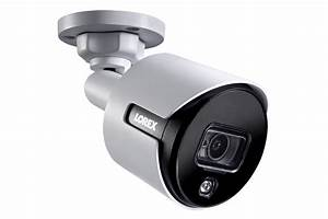 Lorex 4k Ultra Hd Active Deterrence Security Camera