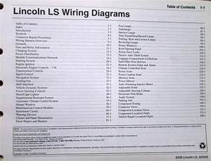 2006 Lincoln Dealer Electrical Wiring Diagram Service