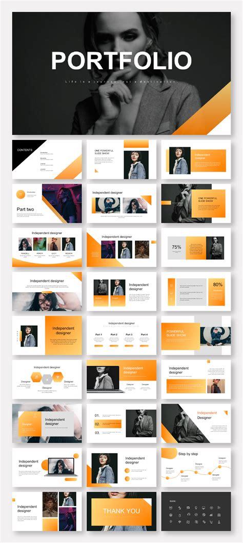 Creative Clean Professional PowerPoint Template - Original ...
