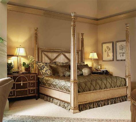 High Bedroom Set by High End Master Bedroom Set Four Poster Bed Embossed