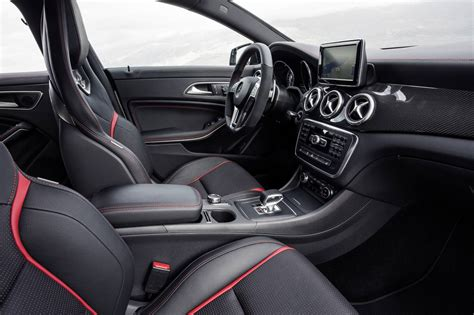 Plus, you get the same great infotainment system as the rest of. Mercedes-Benz CLA 45 AMG interior