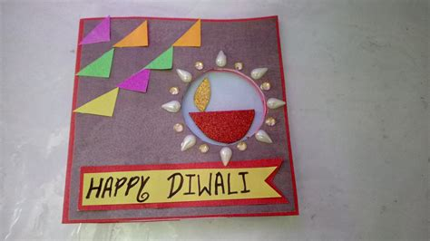 pin  vidya chandru  diwali craft diy diwali cards