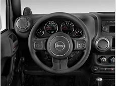 Image 2012 Jeep Wrangler 4WD 2door Sport Steering Wheel